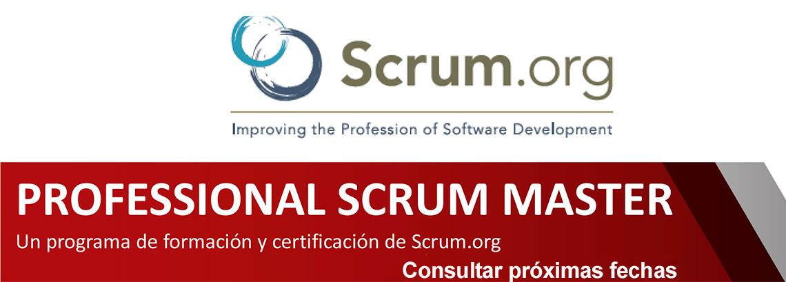 Curso Professional Scrum Master-Consultar fechas